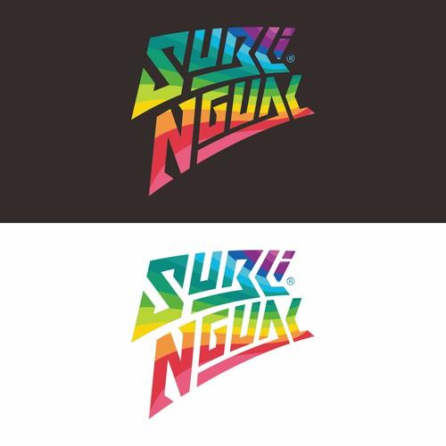 Sublingual fashion logo design.