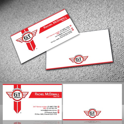 DT HOSES Business card