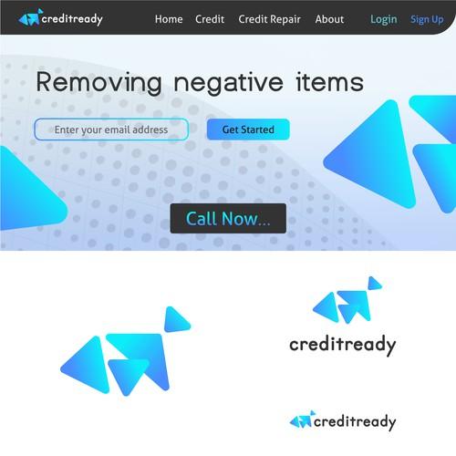 Abstract techy logo design