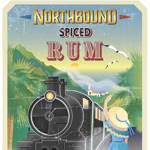 NORTHBOUND SPICED RUM