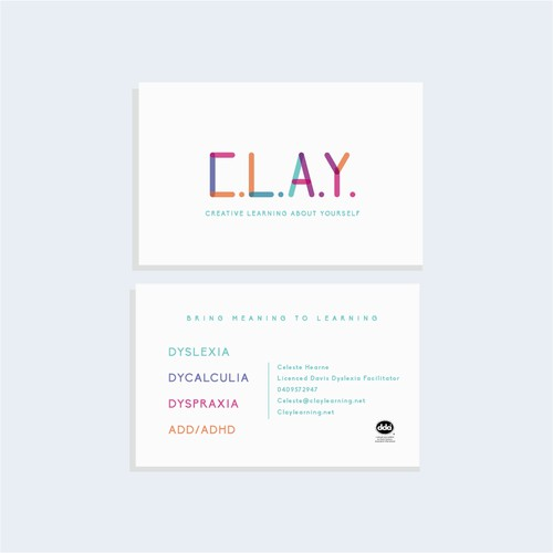 CLAY Business card