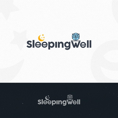 Logo for a blog focused on improving sleep and health
