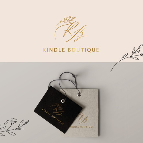 logo for a chic online women's boutique