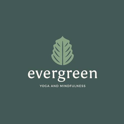 Logo Design - Evergreen Yoga and Mindfulness