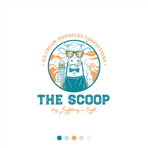 Logo for The Scoop by Jeffrey's Cafe