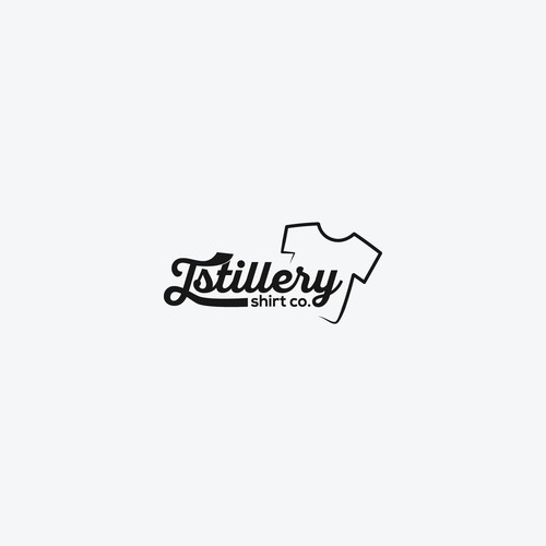 Logo for Tstillery shirt company