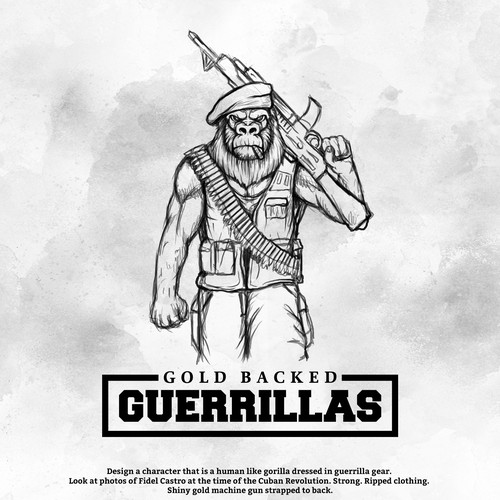 Gold Backed Guerrillas