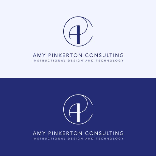 Modern, creative logo for education technology consulting service