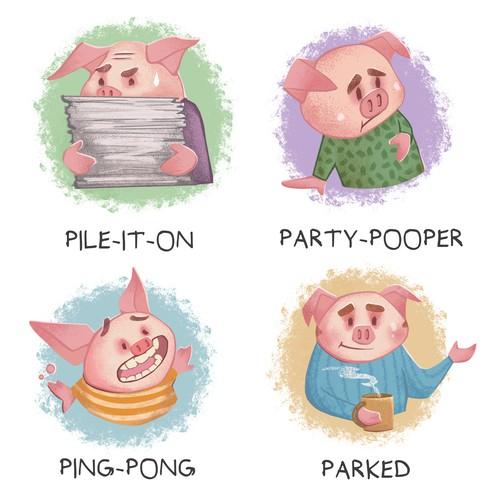 PIggies Mascots