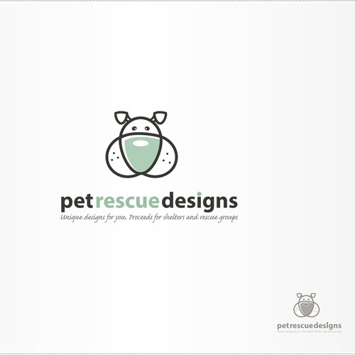 Pet Rescue Designs needs a new logo