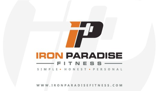 Iron Paradise Business Cards & T-Shirt Design