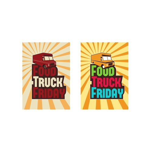 ONE OF THREE CONTESTS!!! FOOD TRUCK FRIDAY LOGO FOR MONROE COTTON MILLS