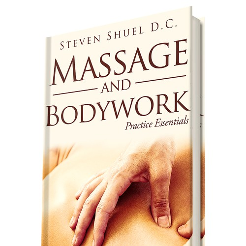 "Book Cover Concept for ""Massage and Bodywork"" 2"