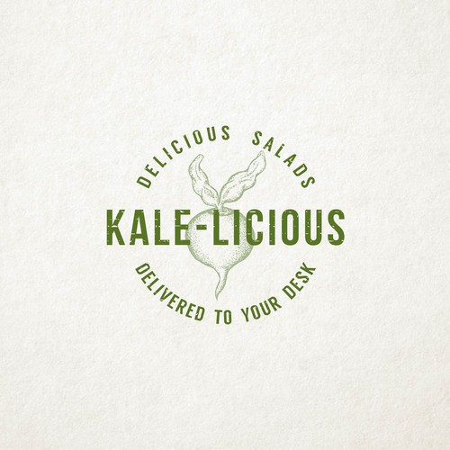 logo for kale-licious