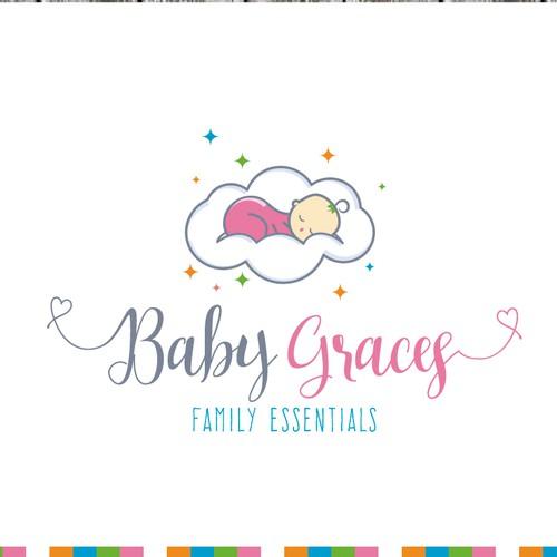 Babies clothes logo design