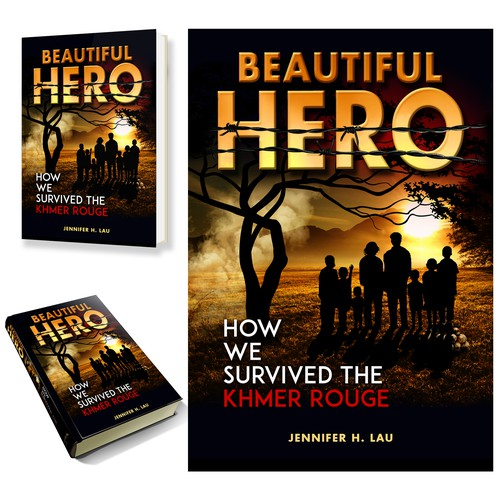 Book cover that captures the human spirit full of resilience, defiance, courage, and triumph