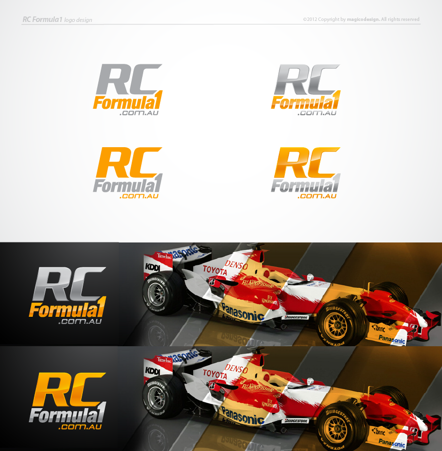 Create the next logo for RCformula1