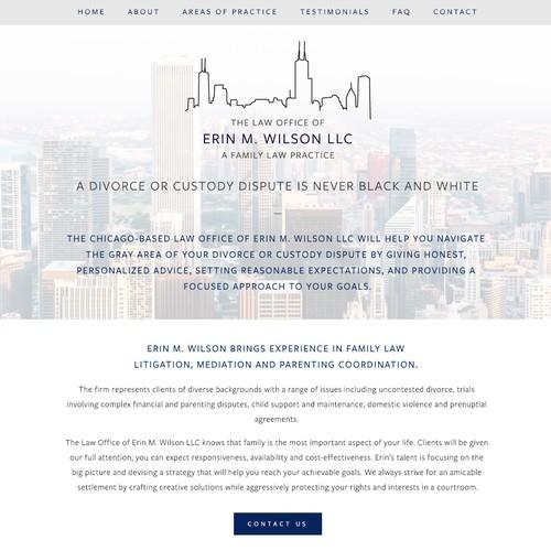 Stylish Law Practice Website