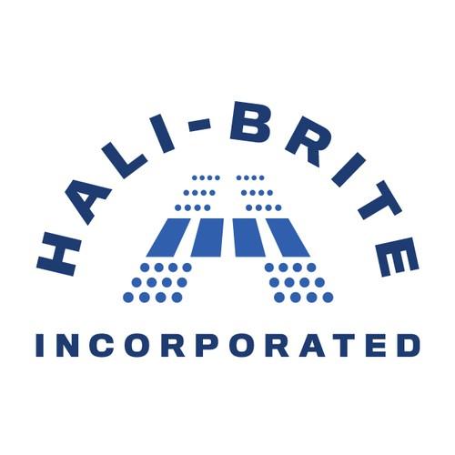 Hali-Brite Inc. Logo Design