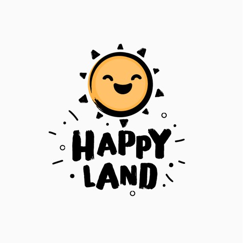 Bold Logo for Amusement Park - Happy Land