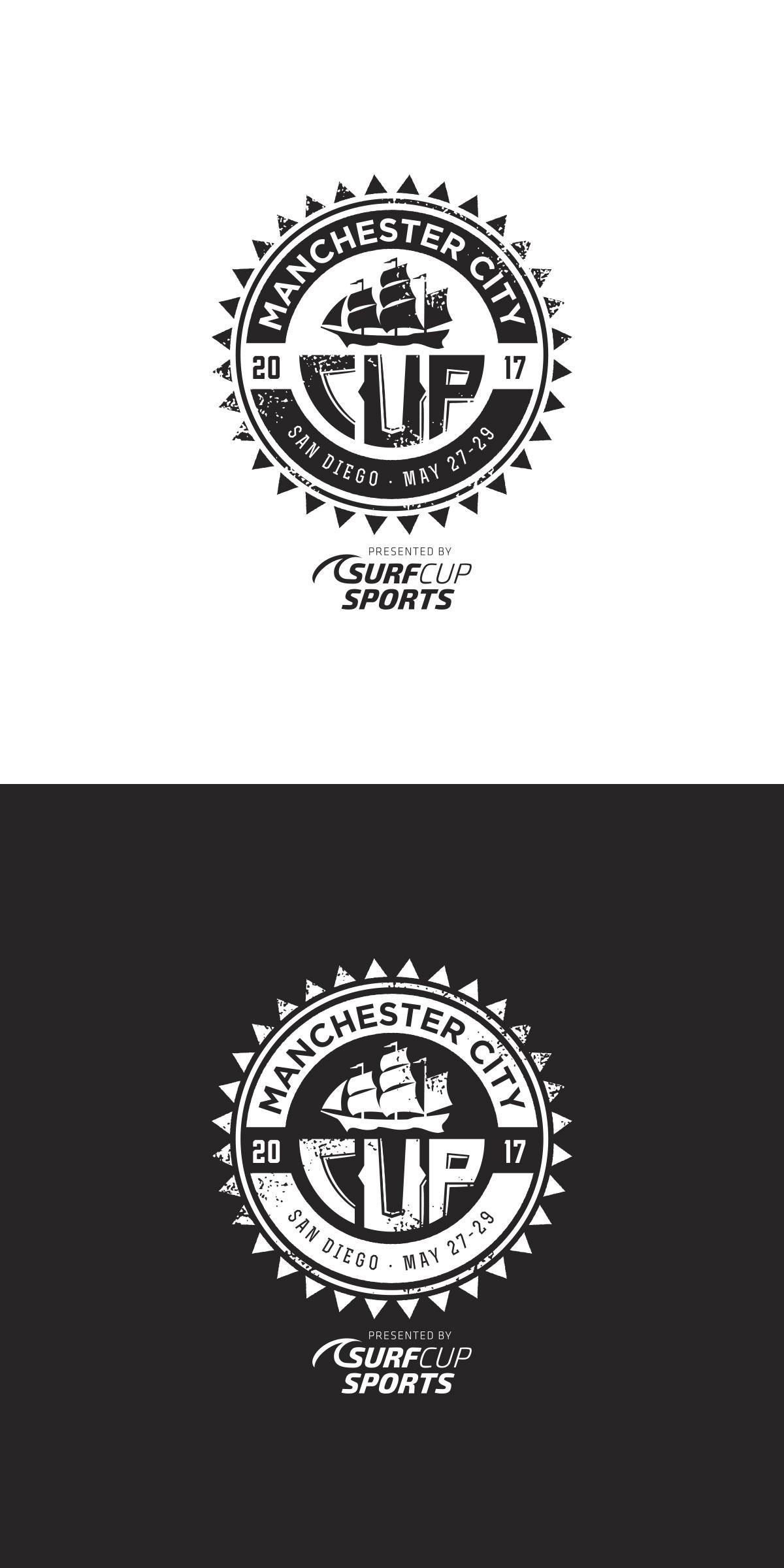 Design a soccer tournament logo
