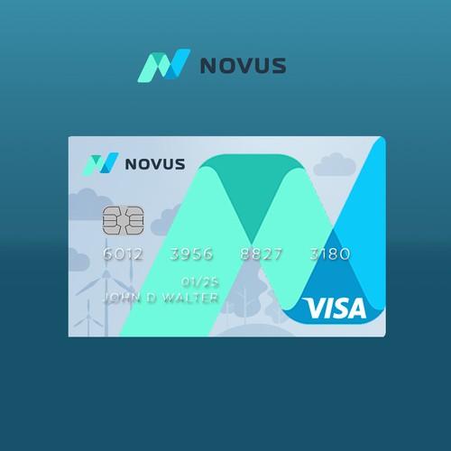 Debit Card Design with illustration
