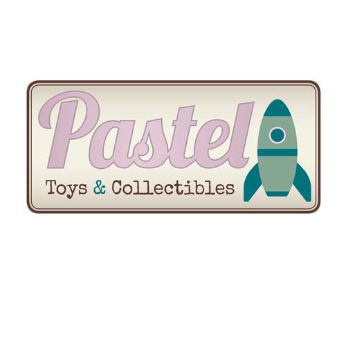Logo design for collectible toys