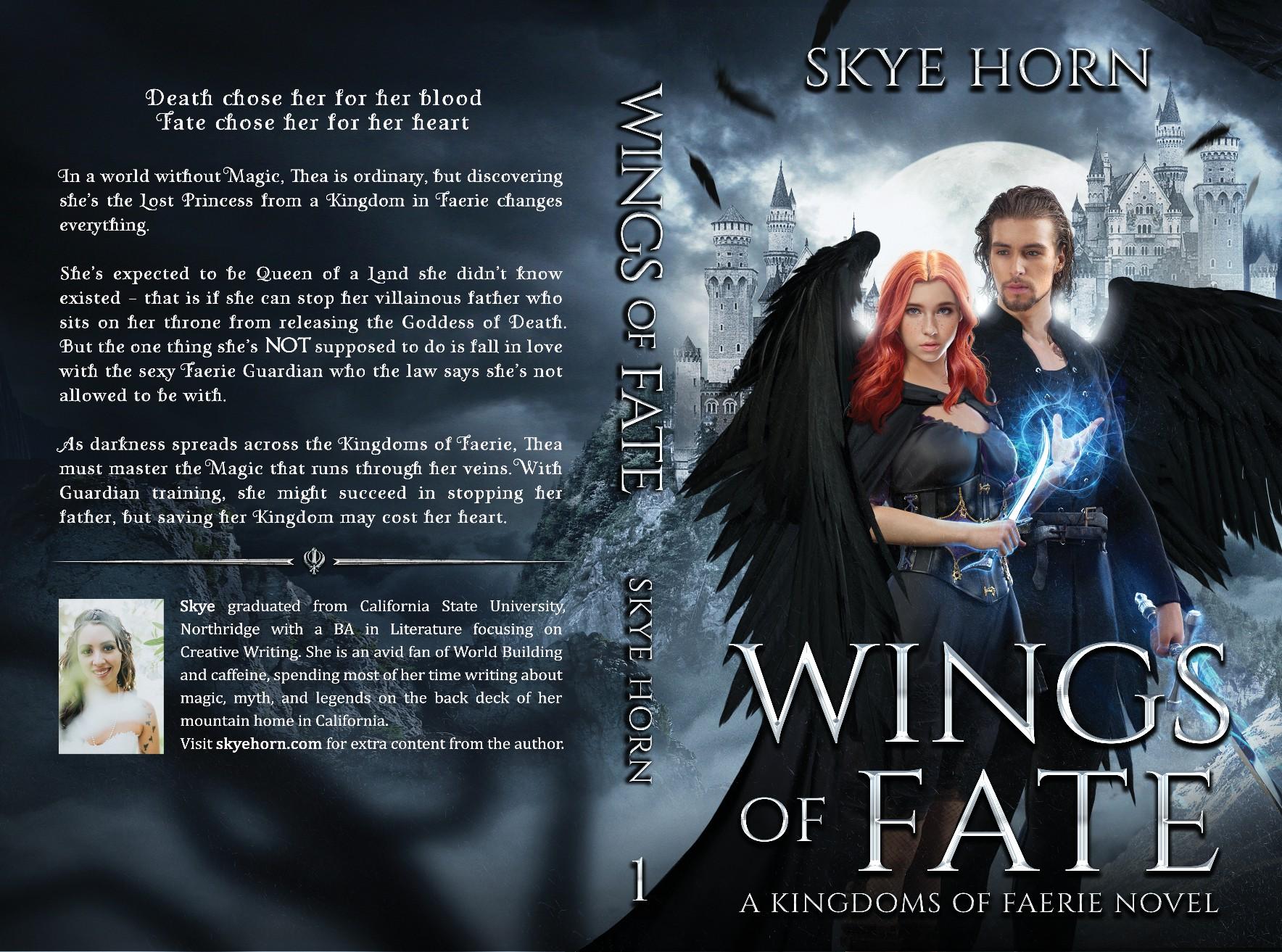 Design a Fantasy Romance Book Cover (Ebook & Paperback)