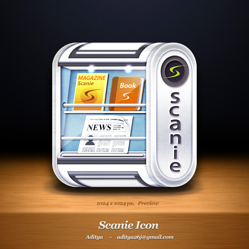 Scanie Icon refresh - make it awesome
