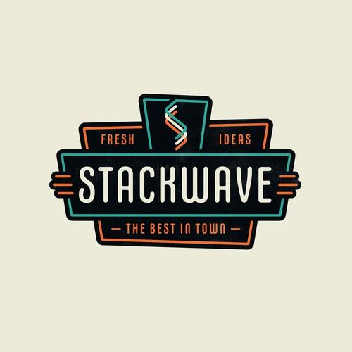 StackWave Logo