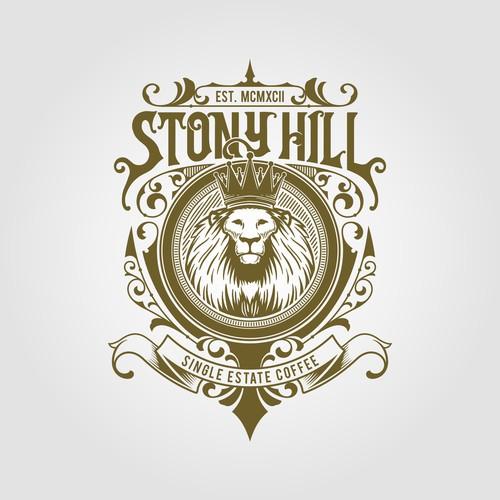 Luxurious vintage logo design