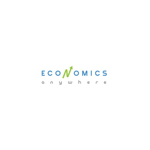 Logo concept for Economics Anywhere