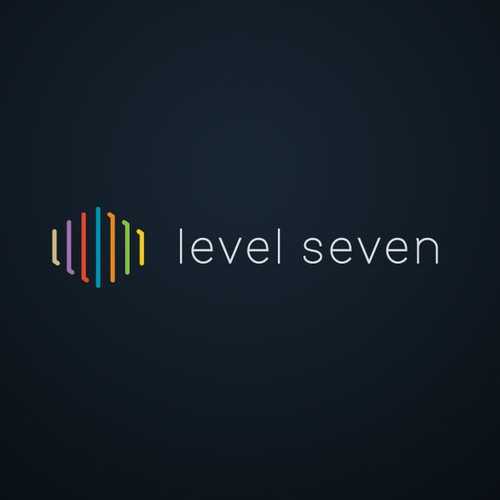 Design a logo and business card for Level Seven