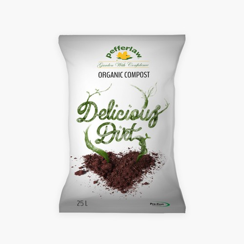 Fun package design for compost