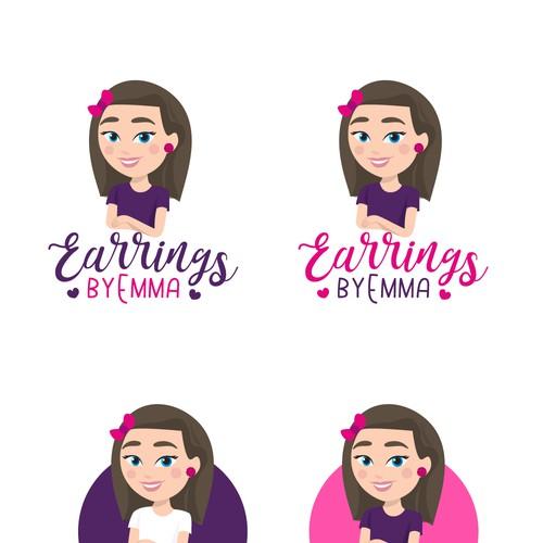 Earrings by Emma Logos contest