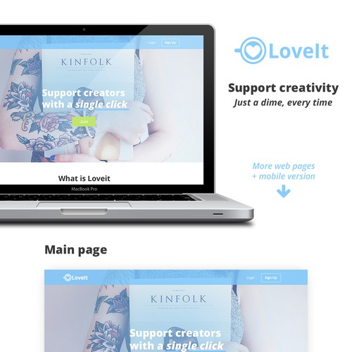 Microtips website redesign