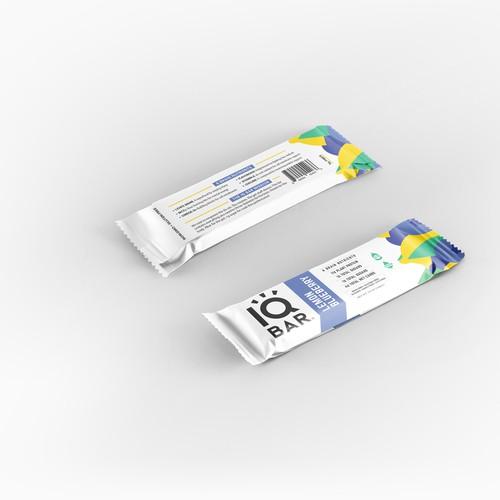 IQ bar package design