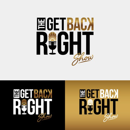The Right Get Back Show Podcast logo