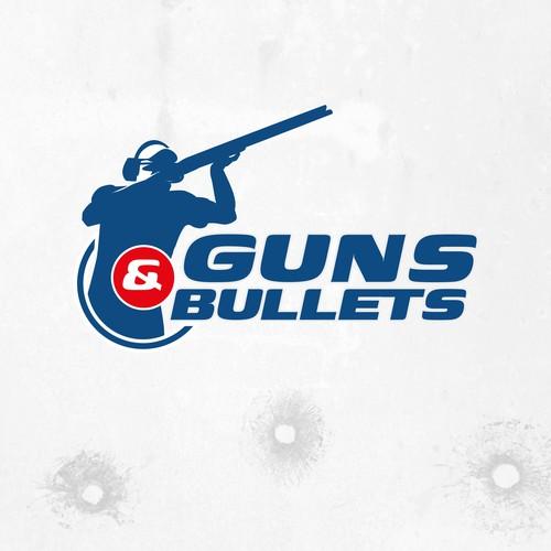 Logo design for a arms store