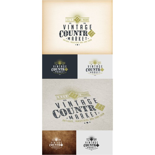 vintage countre market logo