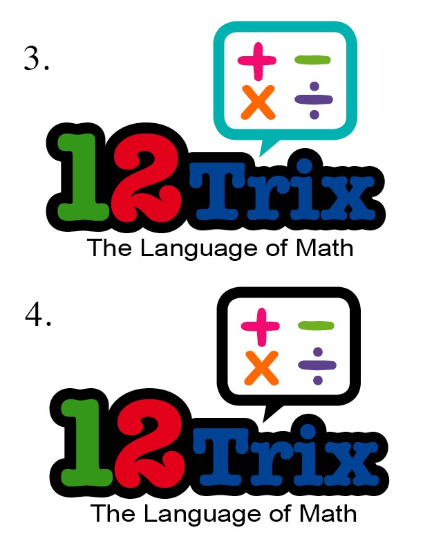 Logo for a site. Great new approach site for teaching math to kids