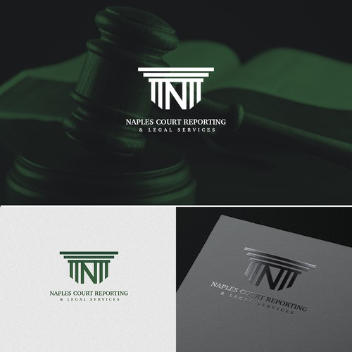 Logo concept for legal firm