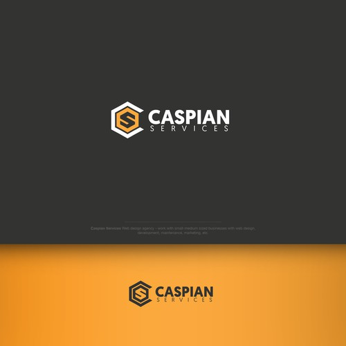 Logo for 'Caspian Services'