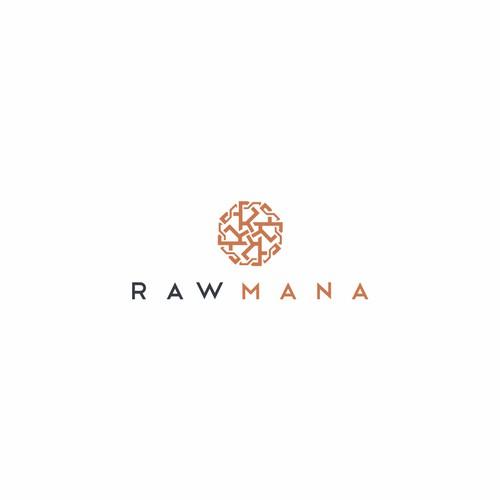 Elegant Logo For Rawmana