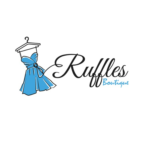 logo for Ruffles Boutique (Ruffles probably more dominant than boutique, but open to suggestions)