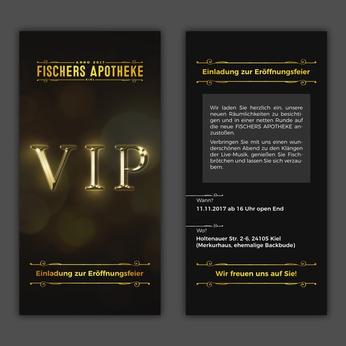 VIP Card/Invitation