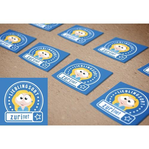 Sticker for Restaurants and Shops