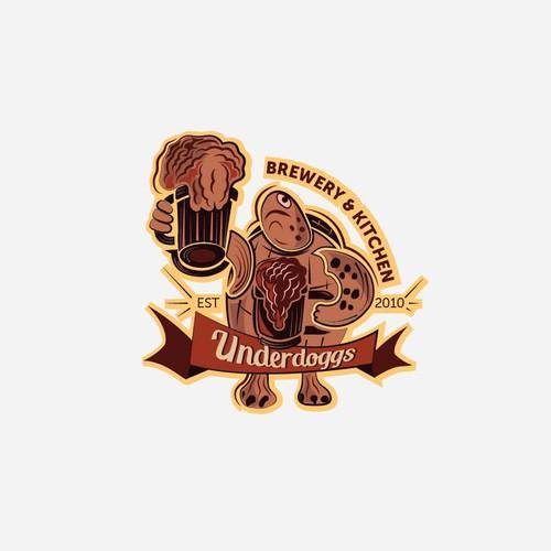 Logo for underdoggs