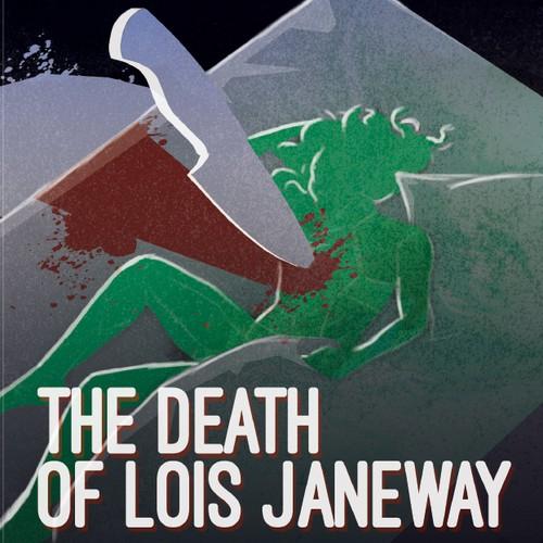 Book cover for a crime novel