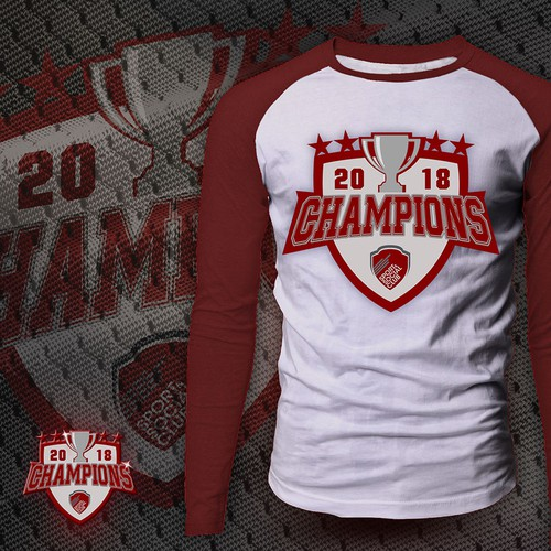 Champions 2018 Shirt Design